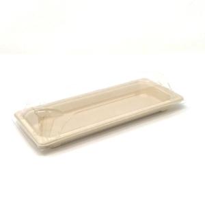 "Sushi Tray Biodegradable 8.7""x3.58""x0.87"" Jocla Panama"